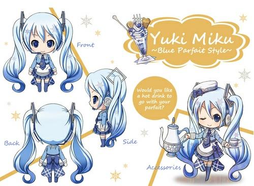 Nendoroid Snow Miku: Blue Parfait Style