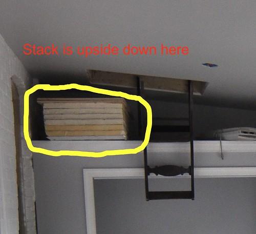 Attic hatch insulation