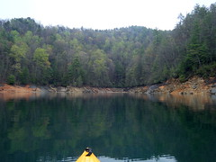 Approaching Wright Creek Cove