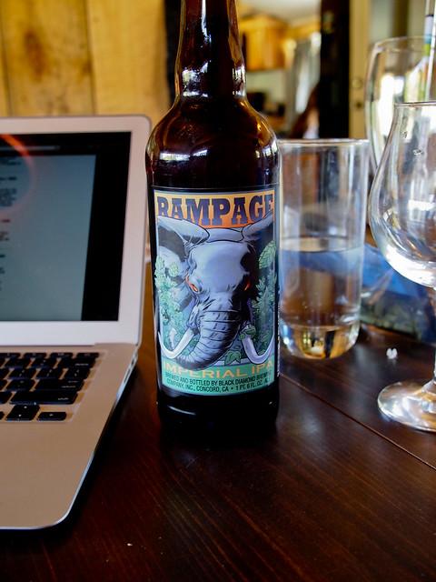 Rampage Imperial IPA - Black Diamond Brewing Co.