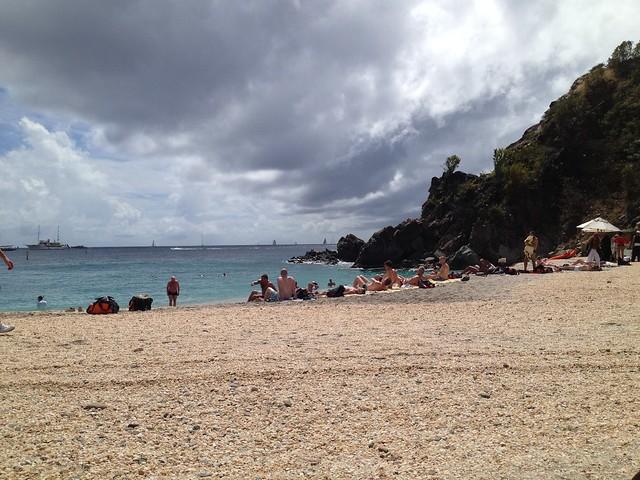 Shell Beach Gustavia