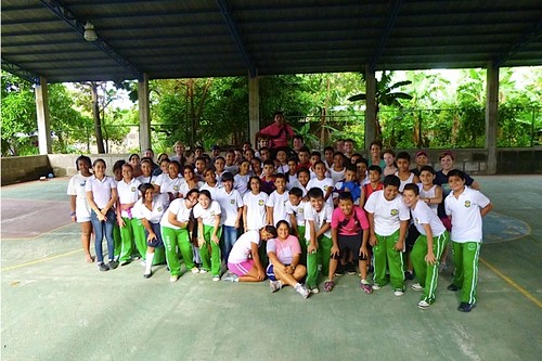 Outreach to 7th & 8th graders from TAV Christian School - Managua by TPCC missions