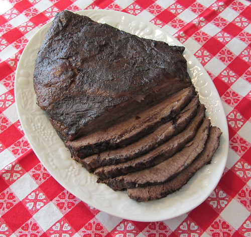 Texas-Style Barbecued Brisket from the Oven