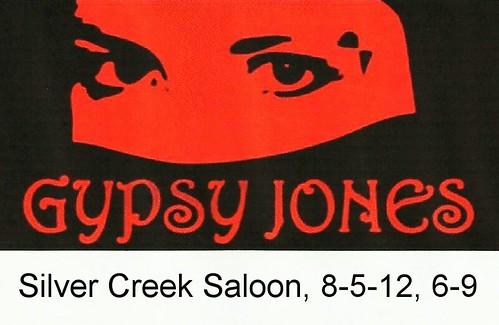 Gypsy Jones 8-5-12, 6-9