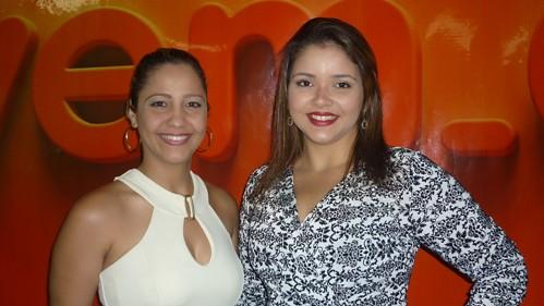 Marlem Tapajós e Verena Miranda