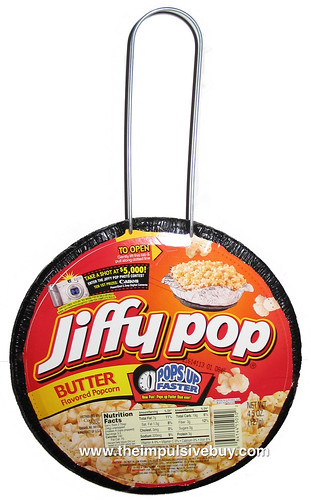 Jiffy Pop Stove Top Butter Popcorn
