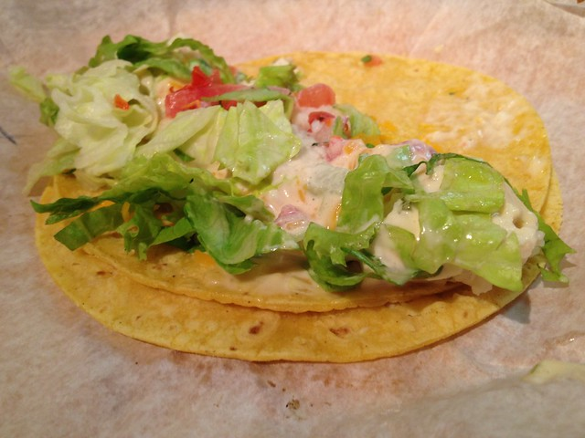 Grouper fish taco - The Taco Spot
