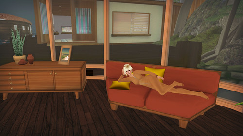 Relaxing before bed in the Mulholland House by Barnesworth Anubis