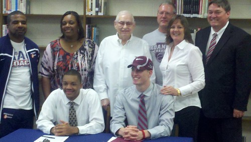Northeast Guilford Basketball Signing
