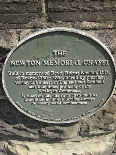 Newton Memorial Chapel, Loftus