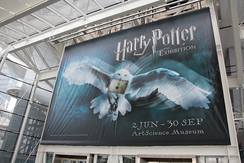 Harry Potter Exhibition at the ArtScience Museum, Singapore