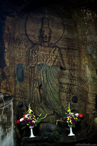 Buddhist Rock Carving