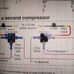 Air Suspension Wiring Diagram Ride Installation Electric Wheelchair Lift Compressor Library