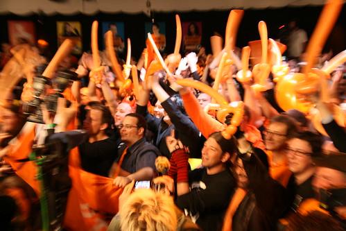 Några av de 608 957 tyskar som röstade  på Piratenpartei i Nordrhein-Westfalhen.