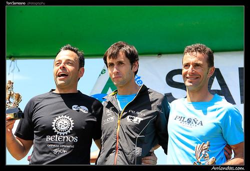 Blas, Martín y Bárcena - Foto de Toni Somoano (Arriondas.com)