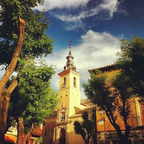 Plaza de San Justo, en Toledo