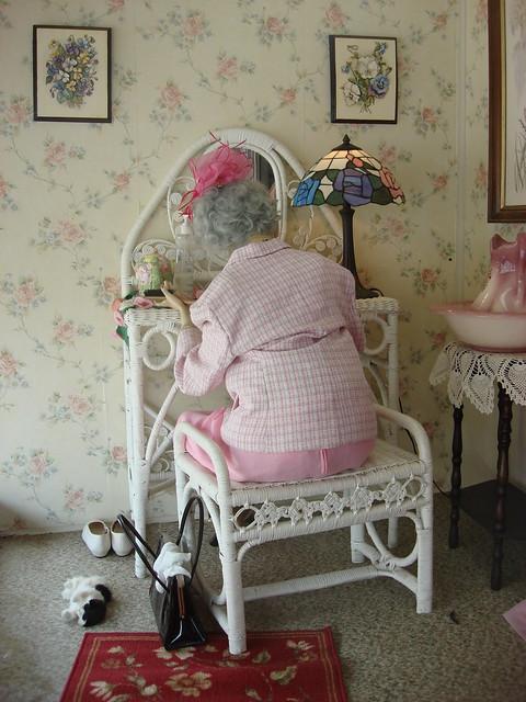 Mannequins at Alabama Home Resperatory, Greensboro AL