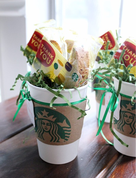 Starbucks Teacher Appreciation Gift Cards