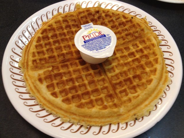 Single waffle - Waffle House