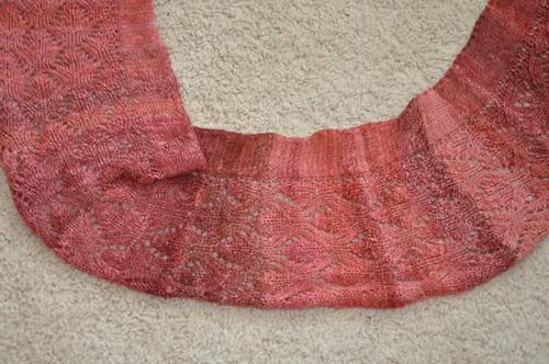 Evening Primrose scarf.