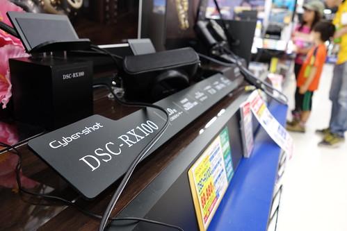 SONY Cybershot DSC-RX100 f/4.0 28mm
