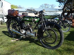 1923 BSA Motorcycle