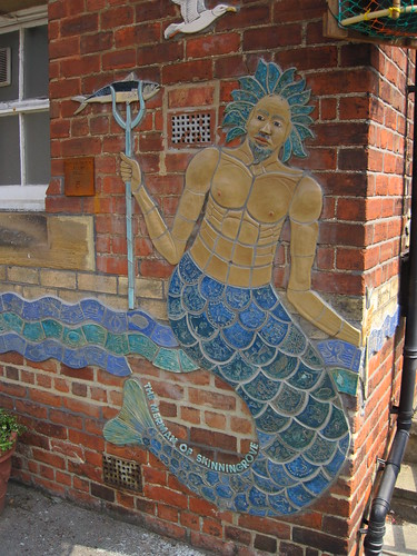 Skinningrove Merman