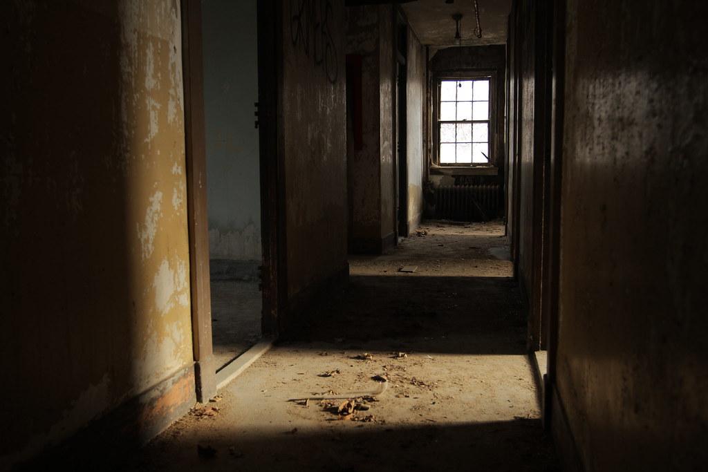 Dark Hallway Bayley Seton