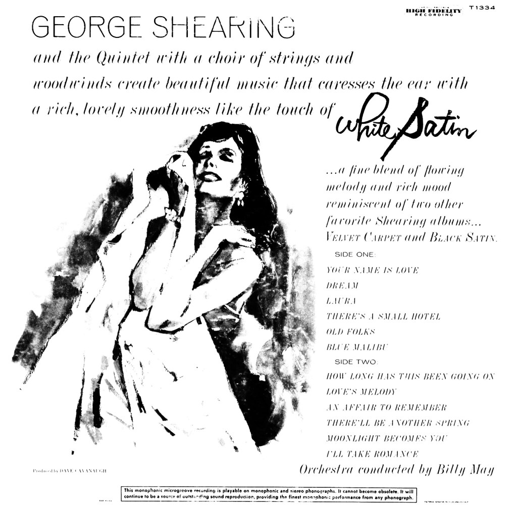 George Shearing - White Satin