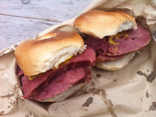 Salt Beef Bagel At Beigel Bake Brick Lane