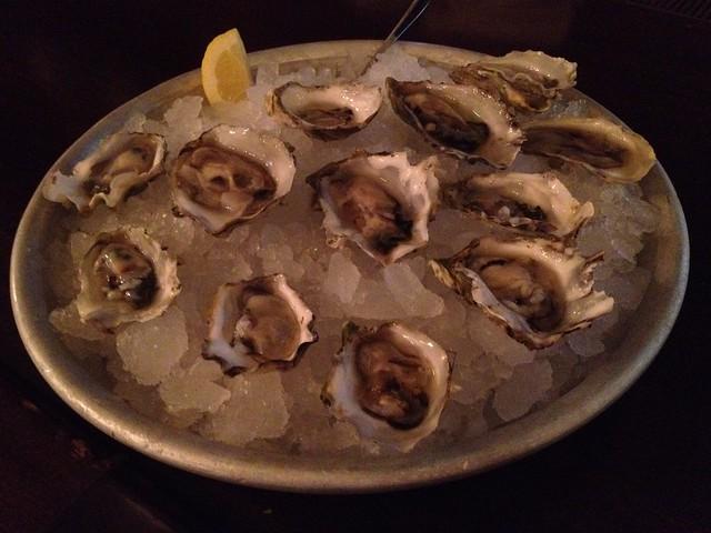 Miyagi oysters - P.J. Clarke's