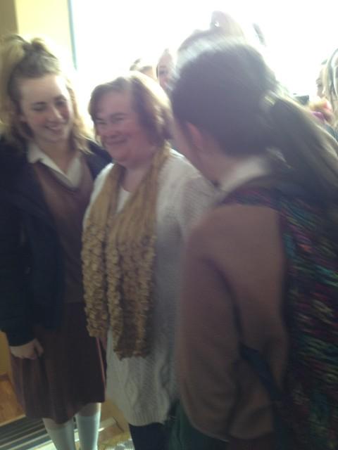 Susan Boyle sighting