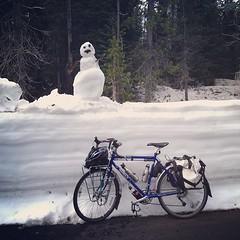 I made a snowman