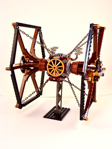 Steampunk TIE Fighter by Sean Jensen on flickr