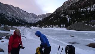 CMC Glacier Gorge Ice Climbing in RMNP