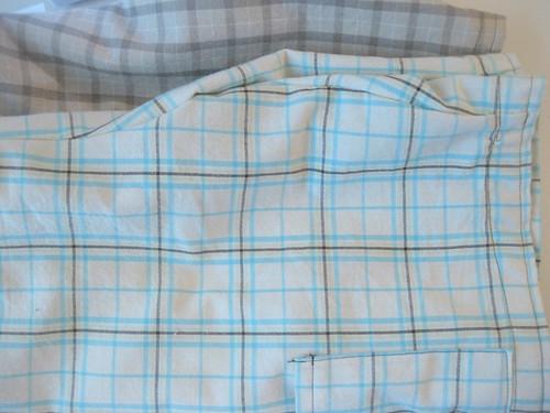 Butterick 3475 Plaid Cotton Shorts
