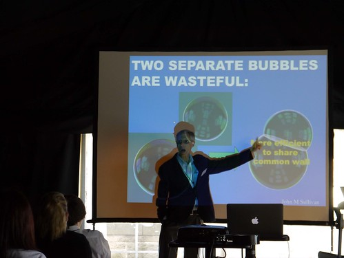 Frank Morgan's talk for schools at Our Dynamic Earth 4 by ICMS News Photos