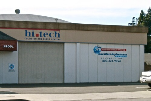 Hi-Tech Collision - Garden Grove Paint Graphics by MrBigCity