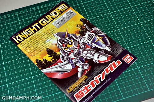 SD Legend BB Knight Gundam OOTB Unboxing Review (13)