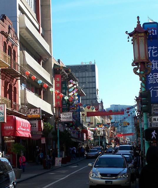 Chinatown, Grant Avenue