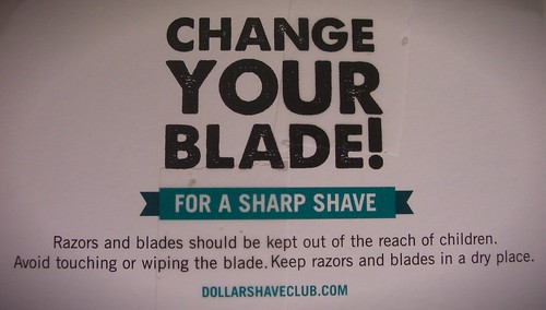 Change Your Blade