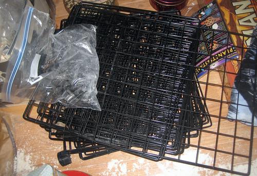 20120519 - yardsale booty - useful - metal modular shelves - IMG_4224