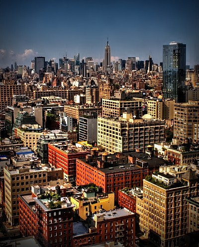 New York from Citi HDR by dogfrog