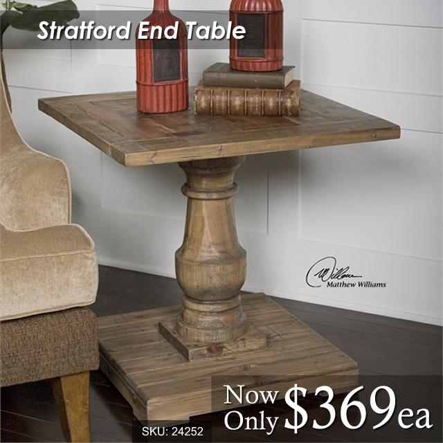 24252 Stratford End Table