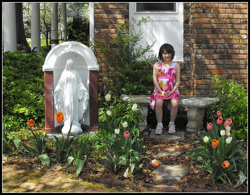 Baby & Tulips