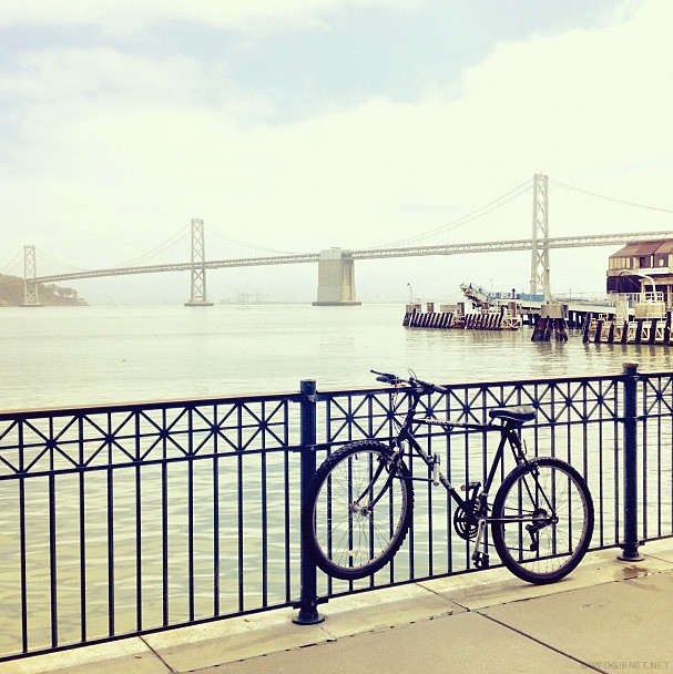 by the Embarcadero