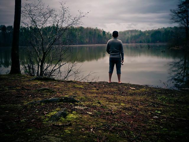 sly at the lake