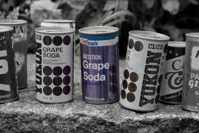Not real grape soda