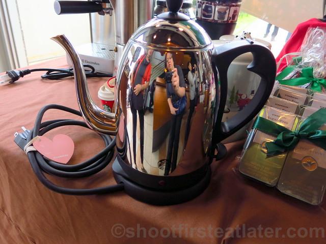 Starbucks Taipei 14th Anniversary sale- Starbucks electric gooseneck kettle