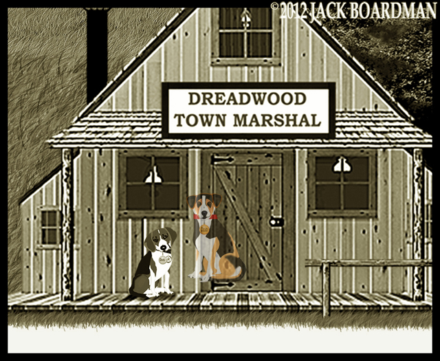 Daisy and Cujo in Dreadwood ©2012 Jack Boardman